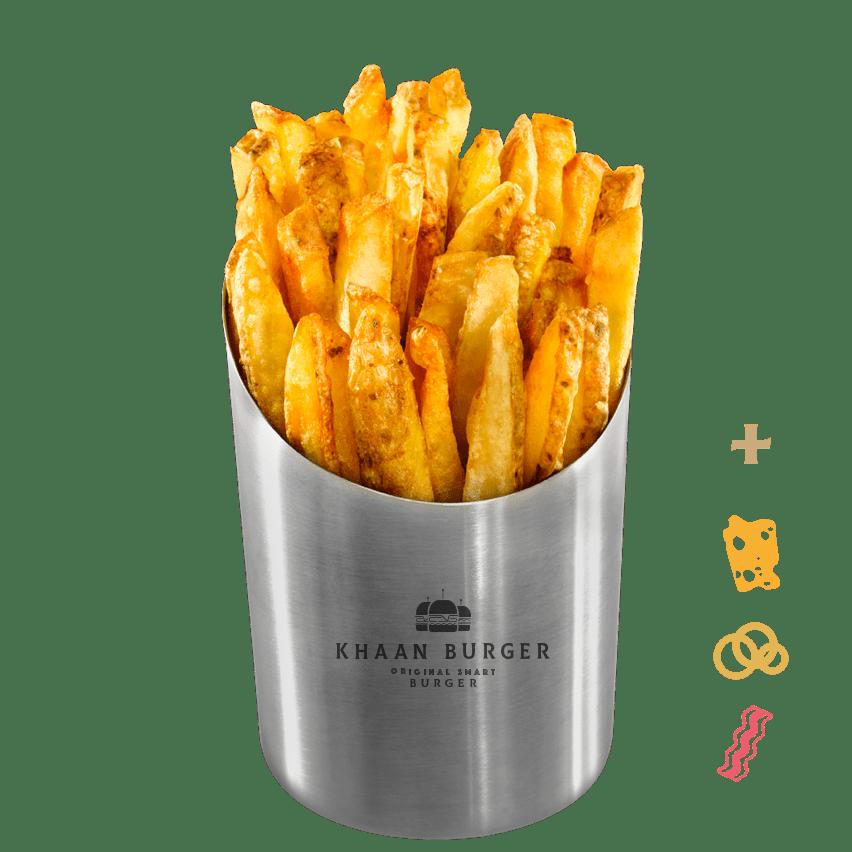 frites khaan-burger