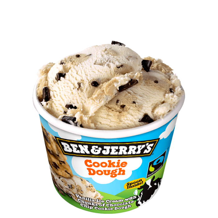 glace ben and jerry s cookie