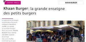 Restauration rapide Bordeaux Burger Smart burger Fast Food Fast Good Ecoresponsable